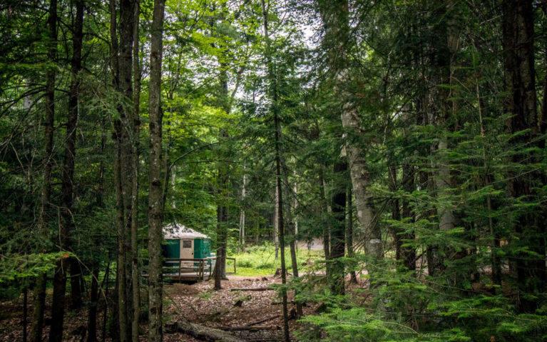 Silent Lake Provincial Park Yurts :: I've Been Bit! Travel Blog