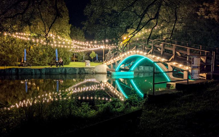 Lights On Stratford Display :: I've Been Bit! Travel Blog