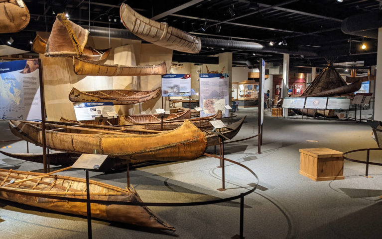 Some of the Exhibits at the Canadian Canoe Museum :: I've Been Bit! Travel Blog