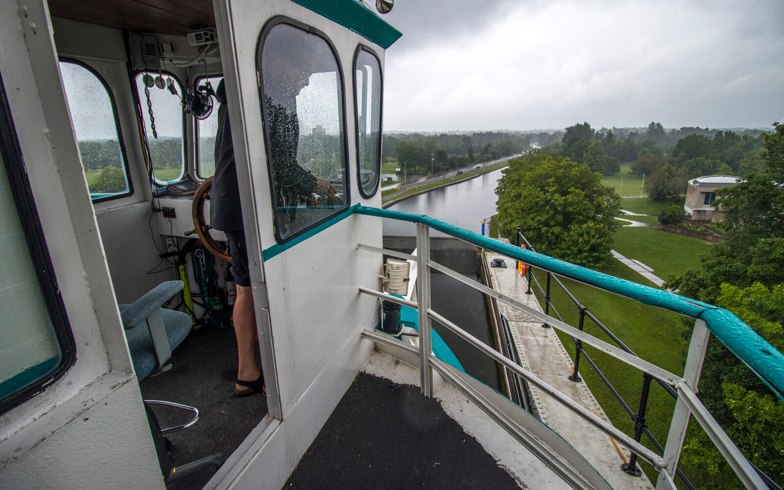 View From the Liftlock Cruise at the Top of Lock 21 :: I've Been Bit! Travel Blog