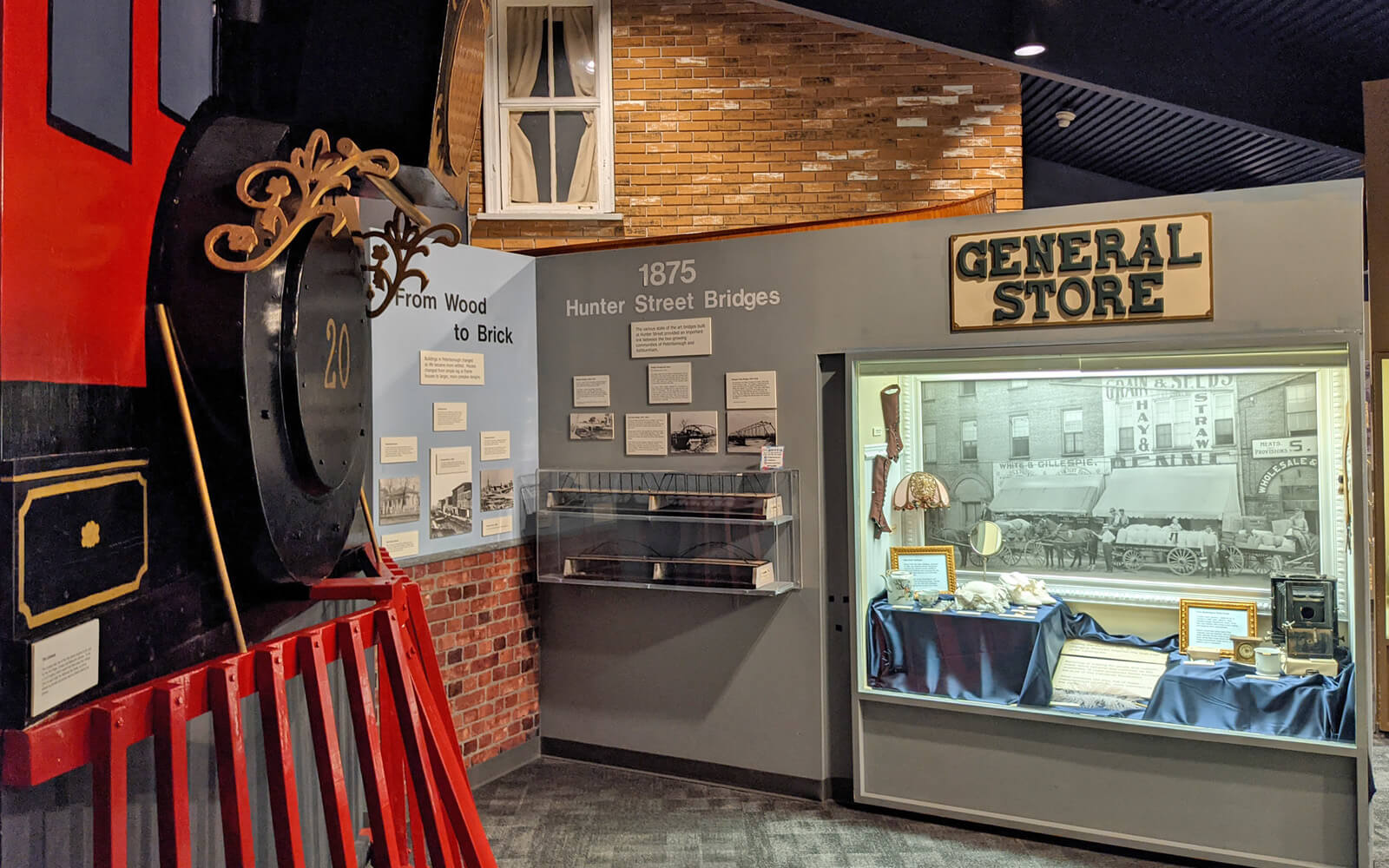 One of the Exhibits at the Peterborough Museum & Archives :: I've Been Bit! Travel Blog