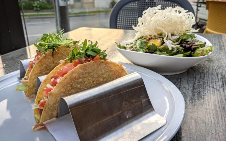 Oceanwise Tuna Tacos and Appetizer Size Thai Noodle Salad :: I've Been Bit! Travel Blog