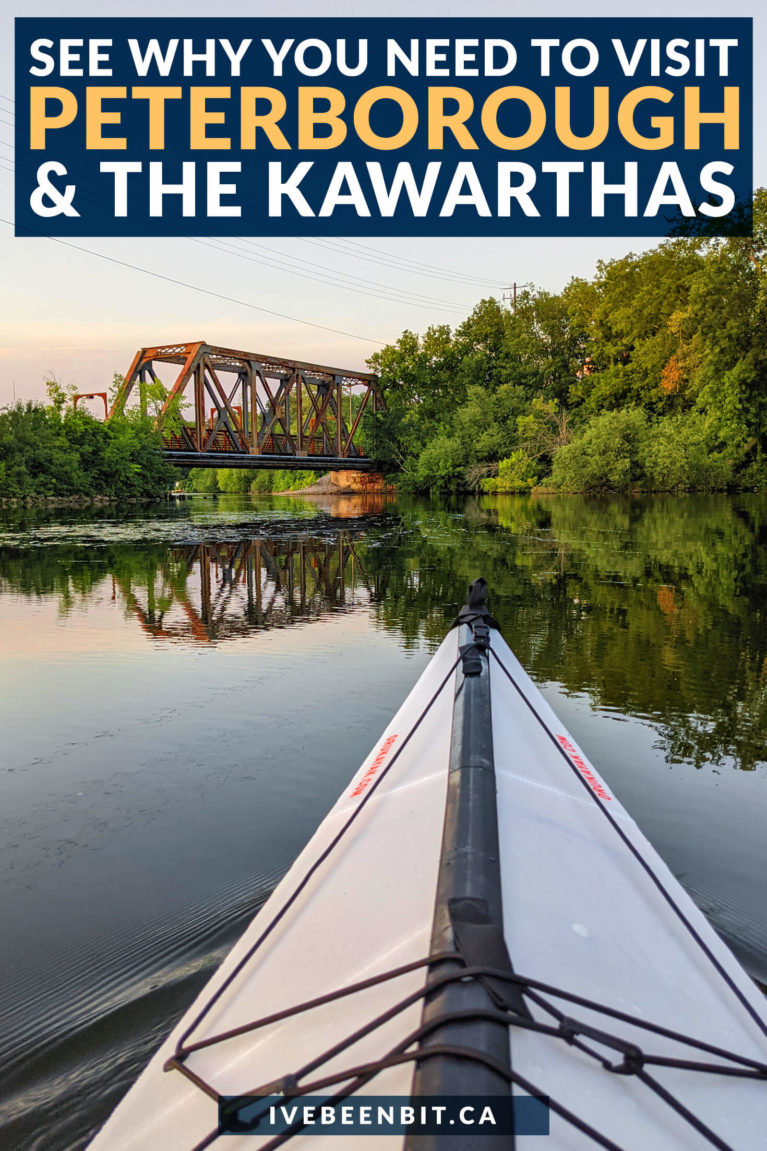 Known as the gateway to The Kawarthas, Peterborough is a fantastic spot to explore the region. Don't miss this epic guide to all the things to do in Peterborough Ontario and The Kawarthas!   Things to Do in The Kawarthas   Kawarthas Ontario   Petroglyphs Provincial Park   Ontario Provincial Parks   Hiking in Ontario   Kayaking in Ontario   Ontario Road Trip   Weekend Trips from Toronto   Things to Do in Ontario   Things to Do Near Toronto   #Ontario #Travel #Summer #RoadTrip   IveBeenBit.ca
