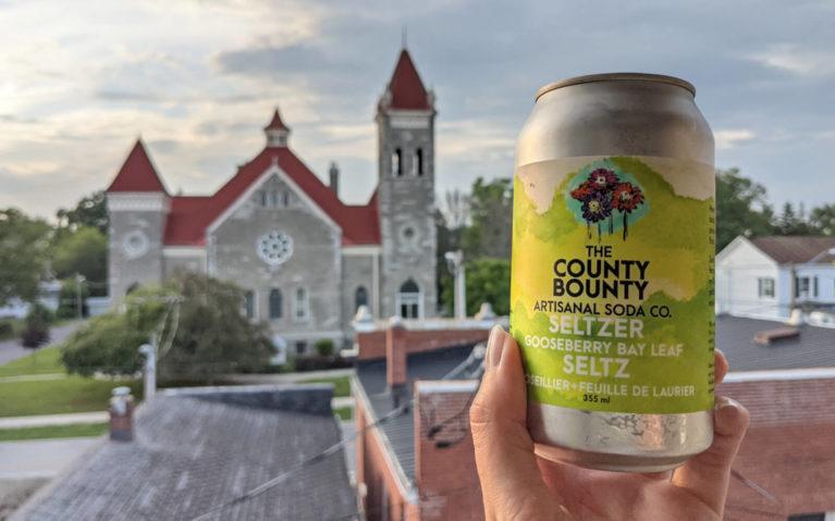 Napanee's County Bounty Soda :: I've Been Bit! Travel Blog