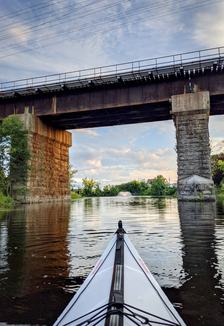 View of the Train Bridge From the Water :: I've Been Bit! Travel Blog