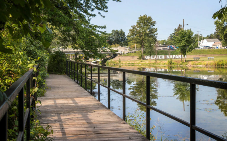 Views of the Napanee River From the Boardwalk :: I've Been Bit! Travel Blog