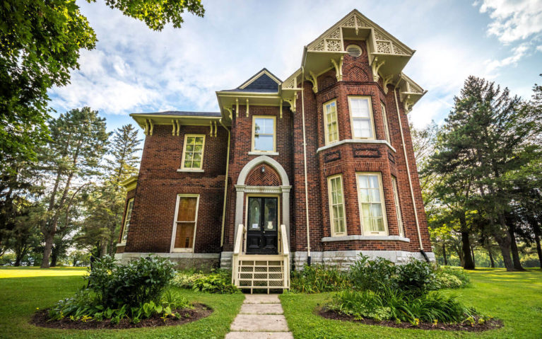 The Allison House at the United Empire Loyalist Heritage Park :: I've Been Bit! Travel Blog