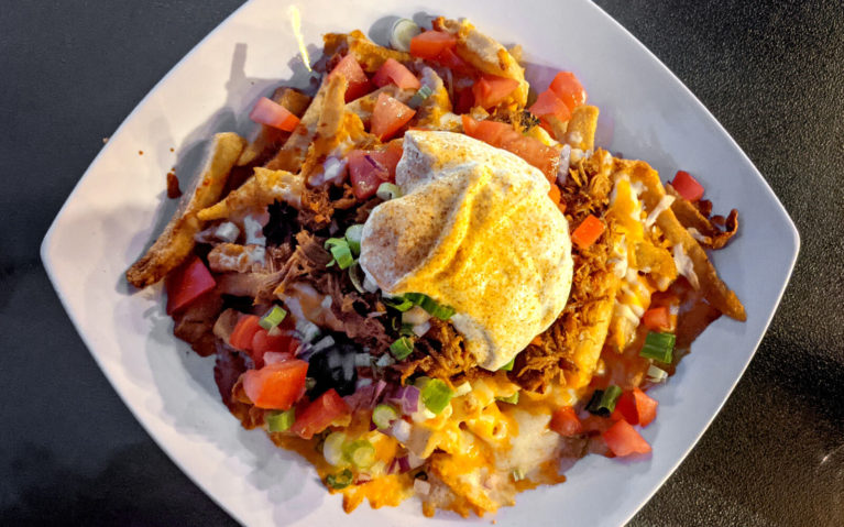 Potatchos from the Waterfront River Pub in Napanee :: I've Been Bit! Travel Blog