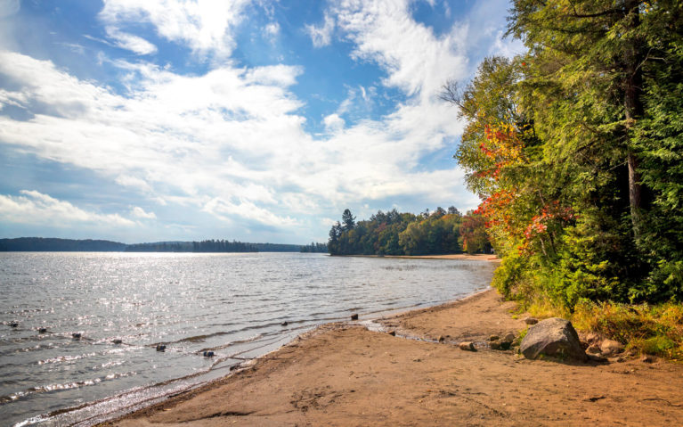 One of the Beaches at Mikisew Provincial Park :: I've Been Bit! Travel Blog